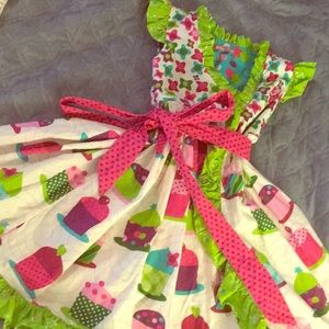 Jelly the Pug Cupcake Dress